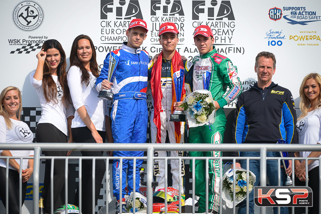 Finland: Taoufik wins in OK, Junior podium for Thompson