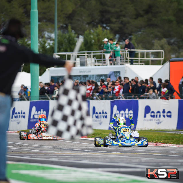WSK La Conca: magnificent victory for Maloney in OK