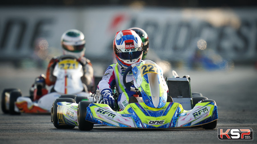 Complicated second round of the WSK Super Master at Lonato