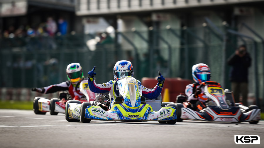 Slater ends the season with another success in Adria